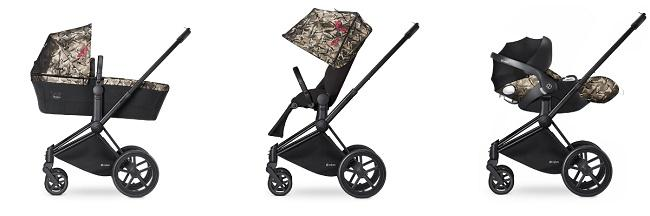 Trio Cybex Butterfly collection