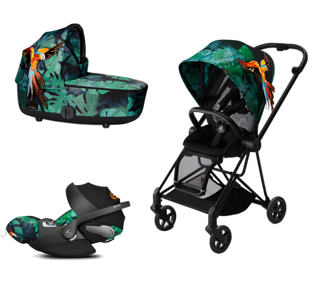 Cybex Platinum Trio Mios Birds Of Paradise