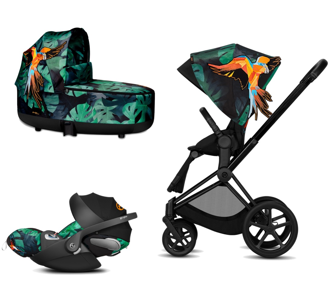Cybex Platinum Trio Priam Birds Of Paradise